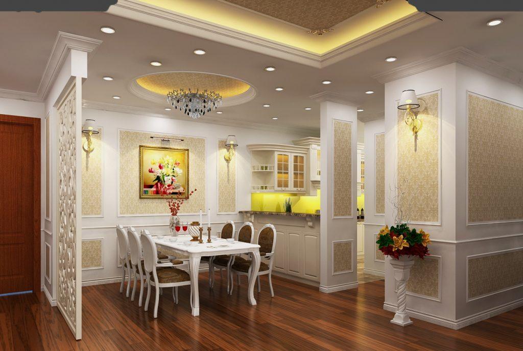 Khu vực nhà bếp dự án 275 Nguyễn Trãi