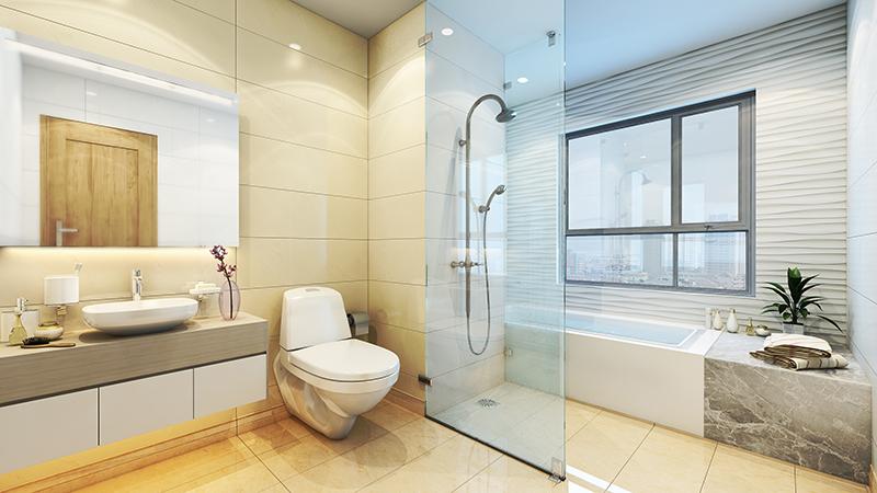 Phòng tắm chung cư 275 Nguyễn Trãi