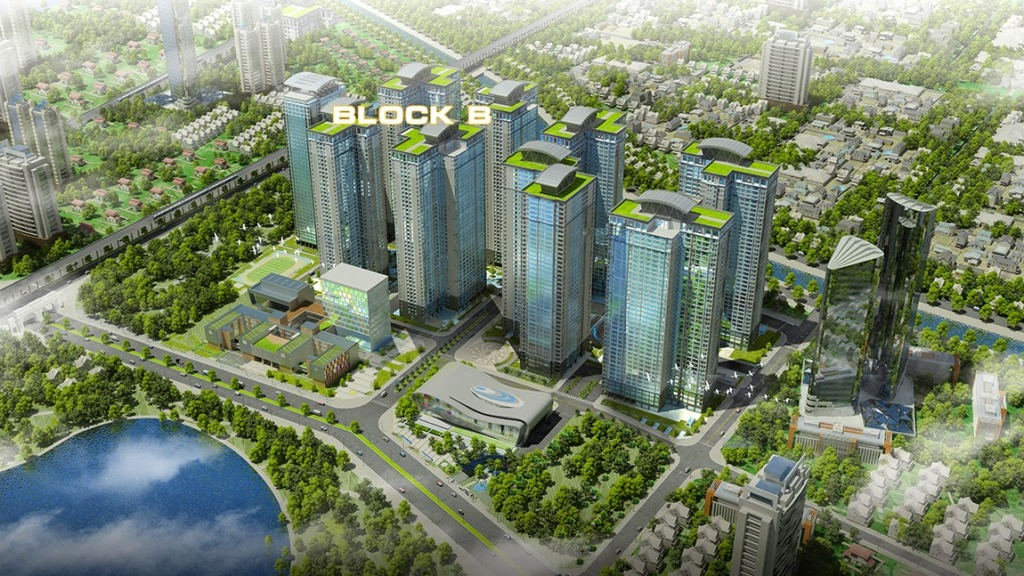 Khu Block B Golmark City