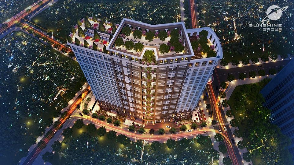 DỰ ÁN CHUNG CƯ SUNSHINE PALACE HOÀNG MAI