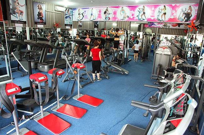 Khu tập gym của dự án