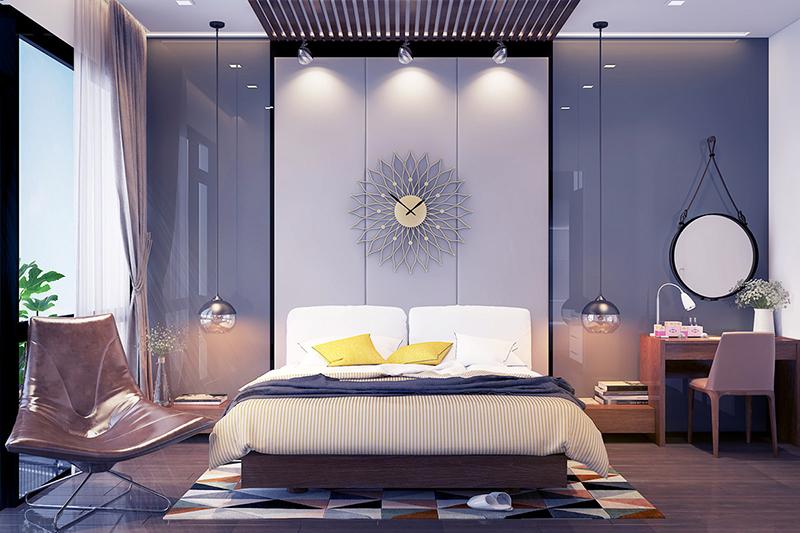 Phòng ngủ chung cư Xuân Mai SPARKS TOWER