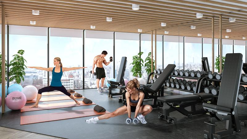 Hệ thống phòng gym hiện đại