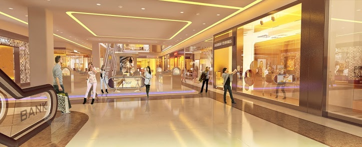 Trung tâm thương mại chung cư Eco City Việt Hưng