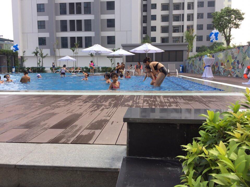 Bể bơi ngoài trời dự án Goldmark City