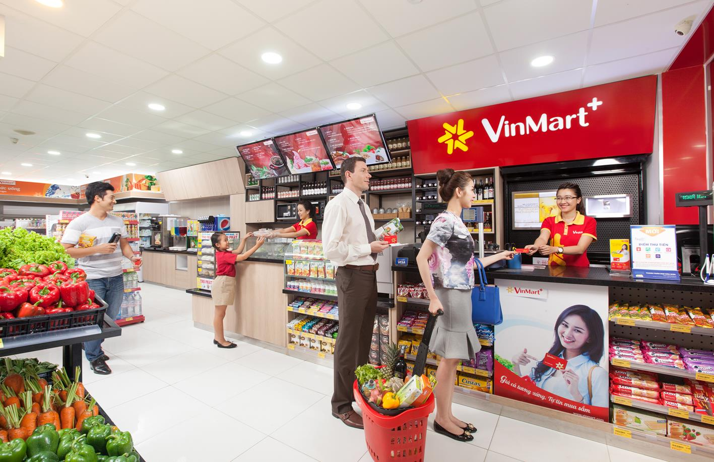 Hệ thống siêu thị lớn