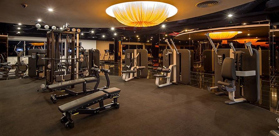 Phòng tập gym đa chức năng tại chung cư
