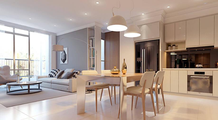 Căn hộ thiết kế tiện nghi tại chung cư Vincity