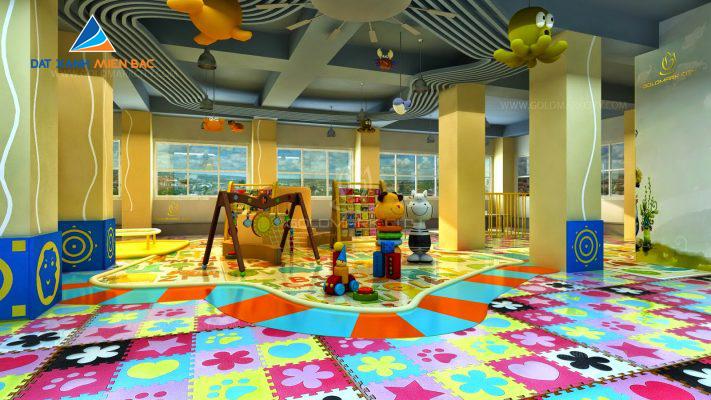 Khu vui chơi cho trẻ em dự án goldmark city