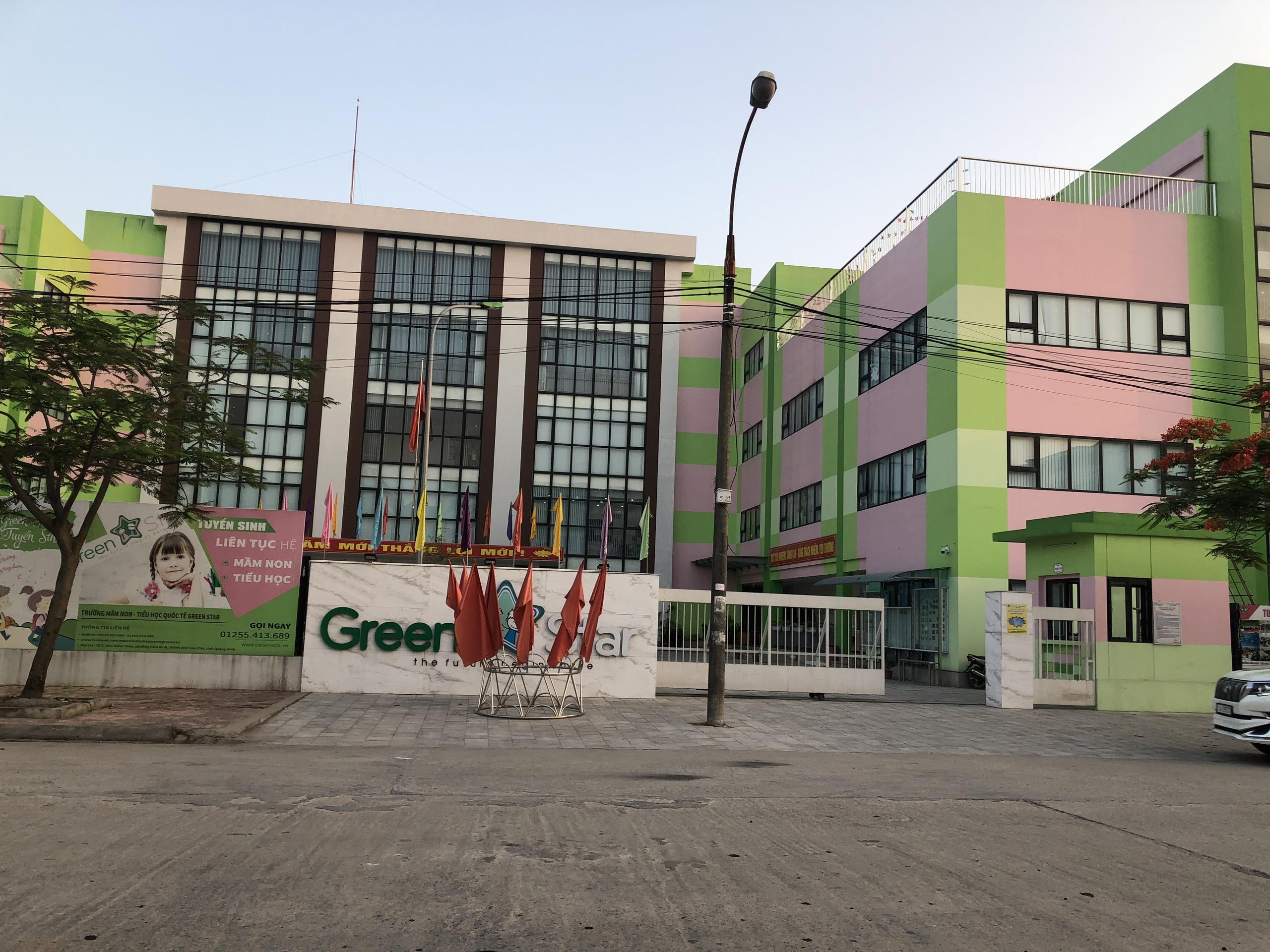 Trường mầm non Green Star và Trường THCS Chu Văn An